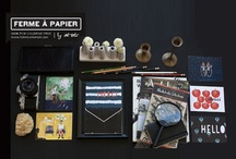 Ferme à Papier... my new paper line / come visit the collection at http://www.fermeapapier.com and our pinterest:  http://www.pinterest.com/fermepapier / by cat seto