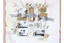 scrapbooking og kort / by Bente Bjerknes