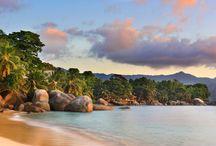 Desktop Explorer Part 1 (Seychelles to Ireland) / Seychelles, Switzerland, Uzbekistan, Costa Rica, Germany, Scotland, England, Spain, Czech Republic, Ireland / by Joseph Wilson