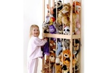 Stuffed Animal Storage / by Kimberly Golden