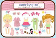 Cute Little Paper Dolls / by Melissa Rainey-Campbell