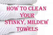 Cleaning Tips / by Sarah Mager-Smock