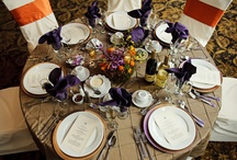 Table tops / flowers by Flore Fine Flowers, Woodbury, CT / by La Bella Vista