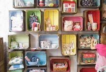 Crates & Pallets / by Vivian Jones
