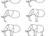 How to draw / by Gun-Maj Fredlund
