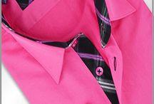 Chemise manche longue homme grande taille couleur tendance / Des chemises grandes tailles aux couleurs flachy, du turquoise, du fuchsia, des modèles à fleurs à rayures, un choix impressionnant pour tous les styles d'hommes. / by Mode Grande taille