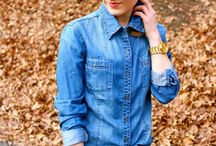 Looks - Camisa Jeans / by Andrea Gervasio