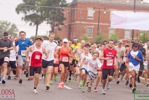 Roll Tide RUN! / Tuscaloosa host a variety of races throughout year for every level of running. / by Visit Tuscaloosa