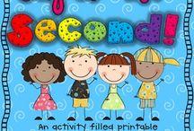 Second Grade!! / by Bridgette Faye