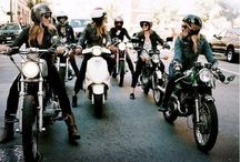 Motorcycles.  / by Emily Boggs