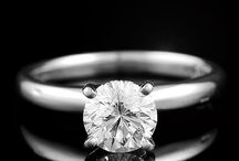 Solitaire Engagement Rings / by The Castle Jewelry Discounters of Diamonds and Fine Jewelry