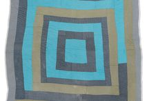 Intuitive Quilt Makers / From Gees Bend to modern makers today, here is a broad sampling of intuitive aka improvisational patchwork. / by Pam Raby