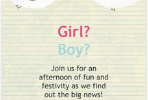 Gender Reveal Party Ideas  / by Asheley Burch