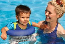 Babies and Toddlers / Pool toys and pool floats for babies and toddlers, plus some safety info and fun activities for the littlest swimmers. :-) / by SwimWays