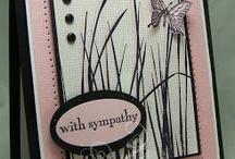 Sympathy cards / by Christine Tuff