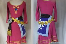 Skyward Sword Zelda Costume: For Tori / by Rachelle Henning