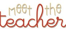 Meet the Teacher / by Lindsey Franklin