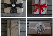 Holidays.....All Wrapped up nice and pretty / Fun ways to gift other folks / by Deborah Byron-Leffler
