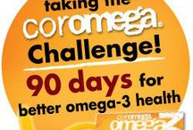 We Challenge You! / We Challenged Americans to find out what their omega-3 levels were. (Most American's are deficient).  Not Coromega users...healthy levels start above 6%! / by Coromega Omega-3