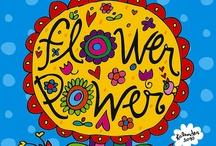 Flower power / by Anne Marie Joncour-Guinebault