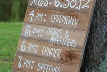 current wedding trends / by michelle mospens