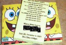 Spongebob Birthday Party / by Ashley Sealand