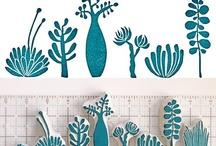Basteln: Falten, Vorlagen, Stempel,... / Bastelideen und -anleitungen mit Papier, Pappe und anderen Materialien. Vorlagen, Muster und Tutorials. D.I.Y. Stempel, süße Basteldeko, clevere Falttechniken,... / by a.liZ.a