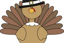 Thanksgiving Clip Art / by MyCuteGraphics