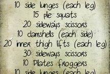 Emily's Fitness Fun! / by Emily L. Sergo