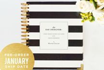 Dayplanners / Planners for the new year / by MaryAnn Perry