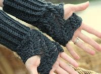 Crocheted Fingerless Gloves and Mittens / by Kim Vovillia