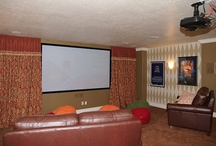 Lake basement movie room / by Molly Barr