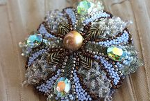 """Jewelry: Beaded Work / """"To do is to bead. """"- Rene Descartes.  """"To bead is to do.""""- Voltaire.   """"Do bead do bead do.""""  - Frank Sinatra  / by Robin Johnston"""