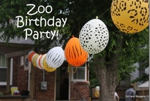 Zoo and Noah's Ark themed birthday party / by Emily