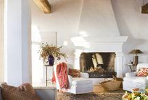 Fireplaces / by Meg Van Lith