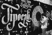Urban typographic inspiration / by Carmen Virginia Grisolía