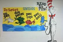 Spanish bulletin board ideas / by Sharon Devine