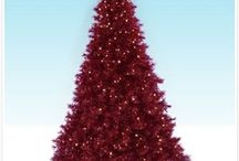 Rockin' RED / Rouge. Red. Crimson. Maroon. Blush. Brick. Burgundy. Cardinal. Cherry. Flaming. Infrared. Rose. Ruby. Russet. Rust. Scarlet. Vermilion. Wine. We rave about red! / by Treetopia Artificial Christmas Trees