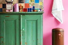shabby chic sewing room / by Pam Taylor