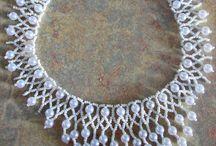 wire crocheted / jewelry  / by Elzbieta Szumanska