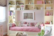 Kids Bedroom Ideas / by Miranda Memmott