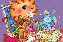 ART:  Cat / by june bug