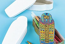 Historical Crafts / A great range of themes, including Egypt, Viking and Roman crafts / by Baker Ross