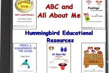 Pre-K Kindergarten Literacy / by Peggy Drake