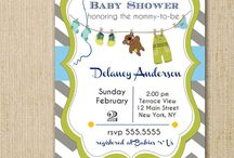 Baby Shower / by Blue Sugar Press - Invitations