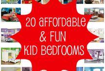 Kids bedrooms / by Julie Tetrick