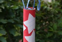 Stars and Stripes(Kids crafts) / by Laura Pfeffer