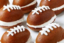 Football Food - Go Hawks!  / by Mia Kallio