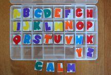 Alphabet ideas / by Sue Hills