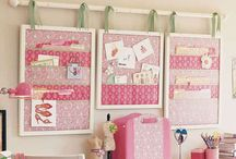 Craft room/office Wall Storage Ideas / by Suzi Corwith